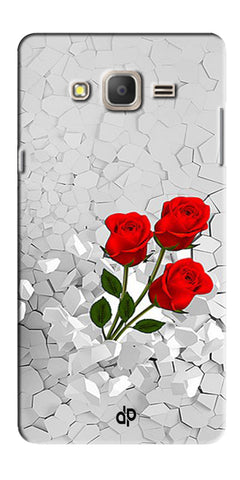 Digiprints Love rose background Printed Designer Back Case Cover For Samsung Galaxy On5 Pro