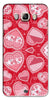 Digiprints Beautiful Pink Heart Design Printed Back Case Cover For Samsung Galaxy On8