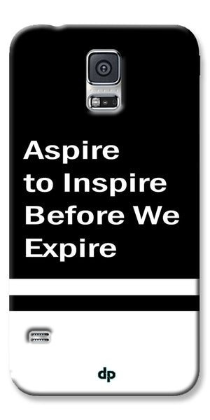Digiprints Aspire To Inspire Printed Back Case Cover For Samsung Galaxy S5