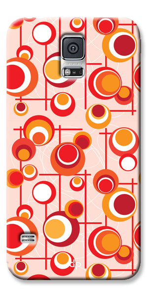 Digiprints Beautiful Geometric Patterns Back Case Cover For Samsung Galaxy S5