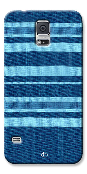 Digiprints Blue Denim Pattern Back Case Cover For Samsung Galaxy S5