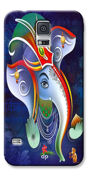 Digiprints Lord Ganesha Back Case For Samsung Galaxy S5