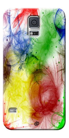 Digiprints  color art Printed Designer Back Case Cover For Samsung Galaxy S5