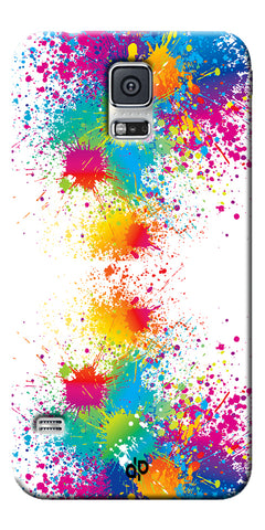 Digiprints  water color background Printed Designer Back Case Cover For Samsung Galaxy S5