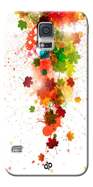 Digiprints  paint splatter Printed Designer Back Case Cover For Samsung Galaxy S5
