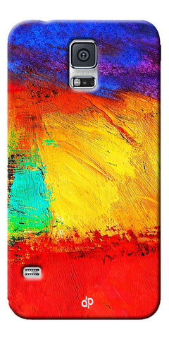 Digiprints ColorFull background Printed Designer Back Case Cover For Samsung Galaxy S5
