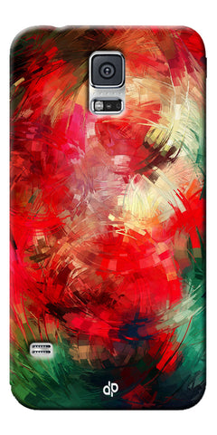 Digiprints  abstract swirl Printed Designer Back Case Cover For Samsung Galaxy S5