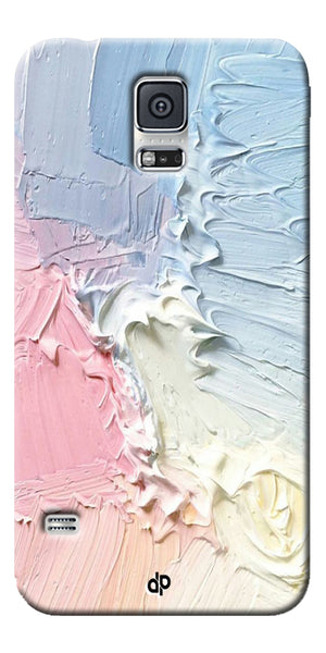 Digiprints Color Pastel Printed Designer Back Case Cover For Samsung Galaxy S5