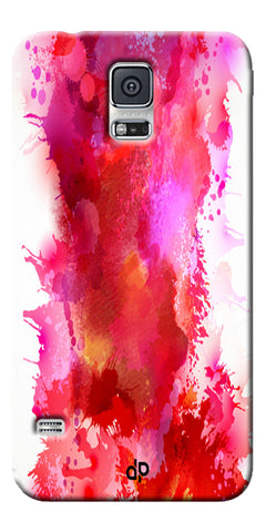 Digiprints multi color water color Printed Designer Back Case Cover For Samsung Galaxy S5