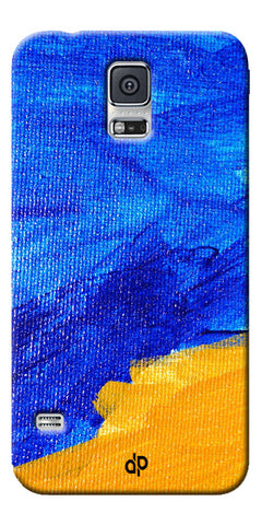 Digiprints abstract painted Printed Designer Back Case Cover For Samsung Galaxy S5