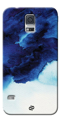 Digiprints Denim Printed background Printed Designer Back Case Cover For Samsung Galaxy S5