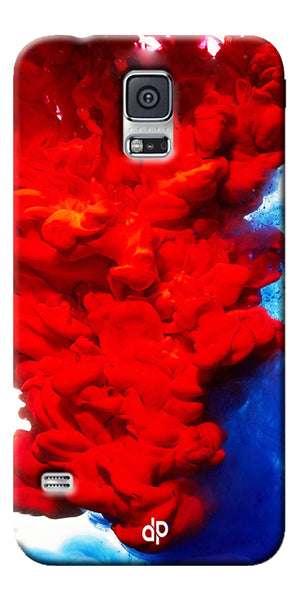 Digiprints Color Flow Printed Designer Back Case Cover For Samsung Galaxy S5