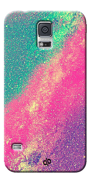 Digiprints glitter background Printed Designer Back Case Cover For Samsung Galaxy S5