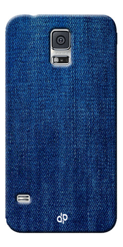Digiprints jeans design  Printed Designer Back Case Cover For Samsung Galaxy S5