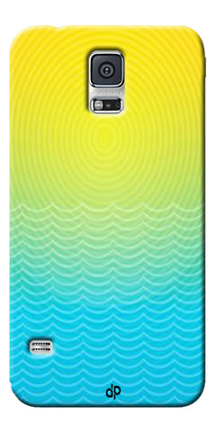 Digiprints Creative Sea Wate Printed Designer Back Case Cover For Samsung Galaxy S5