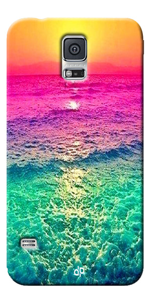 Digiprints Sunset Printed Designer Back Case Cover For Samsung Galaxy S5