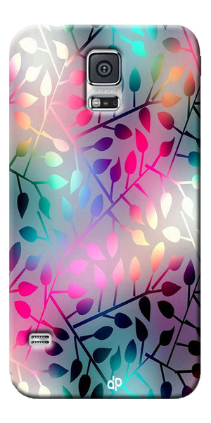 Digiprints Rainbow Pyramid Printed Designer Back Case Cover For Samsung Galaxy S5