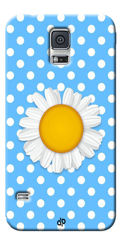 Digiprints flower Printed Designer Back Case Cover For Samsung Galaxy S5