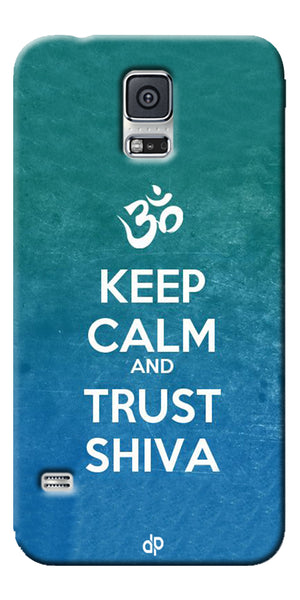 Digiprints Trust shiva Printed Designer Back Case Cover For Samsung Galaxy S5