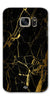 Digiprints Black Marble Design 1 Printed Designer Back Case Cover For Samsung Galaxy S7