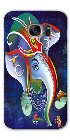 Digiprints Lord Ganesha Back Case For Samsung Galaxy S7