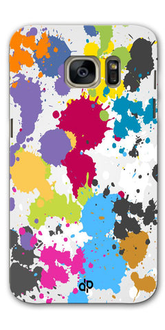Digiprints  paint slatter Printed Designer Back Case Cover For Samsung Galaxy S7
