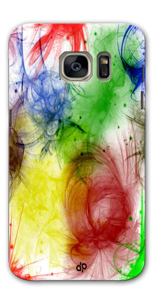 Digiprints  color art Printed Designer Back Case Cover For Samsung Galaxy S7
