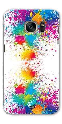 Digiprints  water color background Printed Designer Back Case Cover For Samsung Galaxy S7