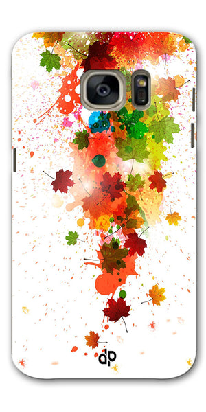 Digiprints  paint splatter Printed Designer Back Case Cover For Samsung Galaxy S7