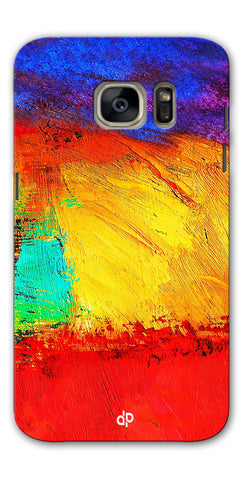 Digiprints ColorFull background Printed Designer Back Case Cover For Samsung Galaxy S7
