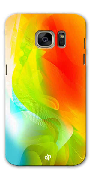 Digiprints  ColorFull Printed Designer Back Case Cover For Samsung Galaxy S7