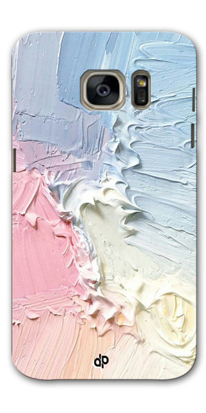 Digiprints Color Pastel Printed Designer Back Case Cover For Samsung Galaxy S7