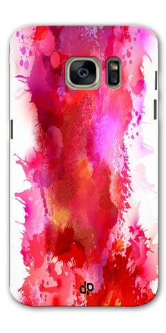 Digiprints multi color water color Printed Designer Back Case Cover For Samsung Galaxy S7