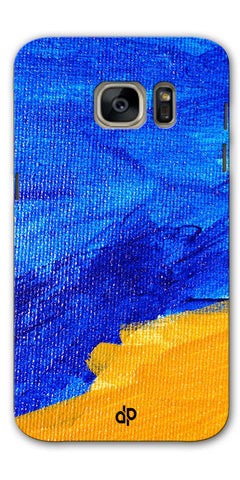 Digiprints abstract painted Printed Designer Back Case Cover For Samsung Galaxy S7