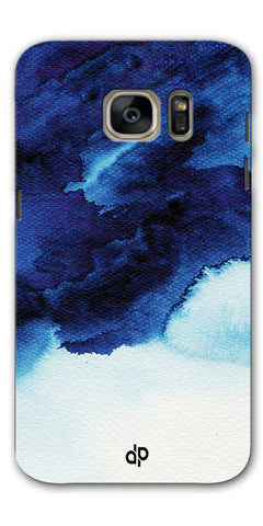 Digiprints Denim Printed background Printed Designer Back Case Cover For Samsung Galaxy S7