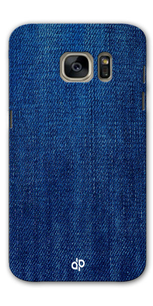 Digiprints jeans design  Printed Designer Back Case Cover For Samsung Galaxy S7