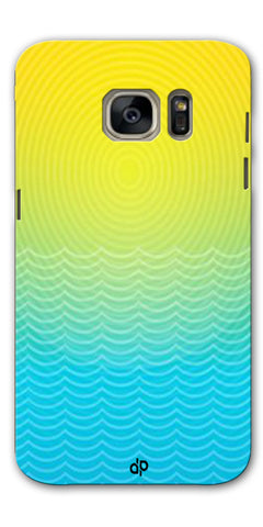 Digiprints Creative Sea Wate Printed Designer Back Case Cover For Samsung Galaxy S7