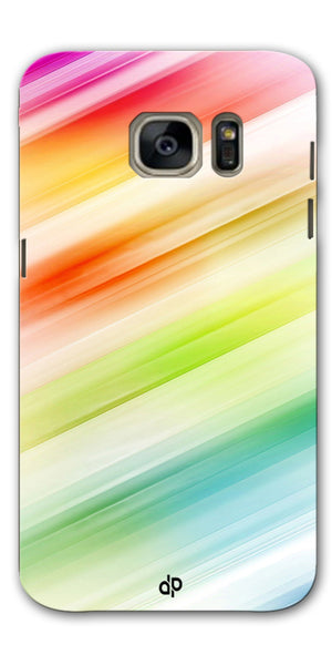 Digiprints Colorful background Printed Designer Back Case Cover For Samsung Galaxy S7