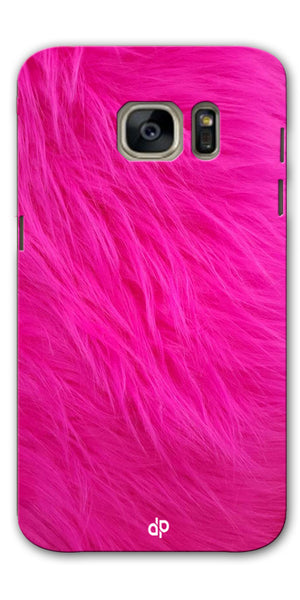 Digiprints PINK Printed Designer Back Case Cover For Samsung Galaxy S7
