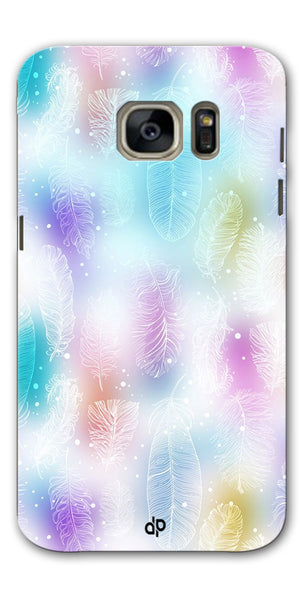 Digiprints glitter Printed Designer Back Case Cover For Samsung Galaxy S7