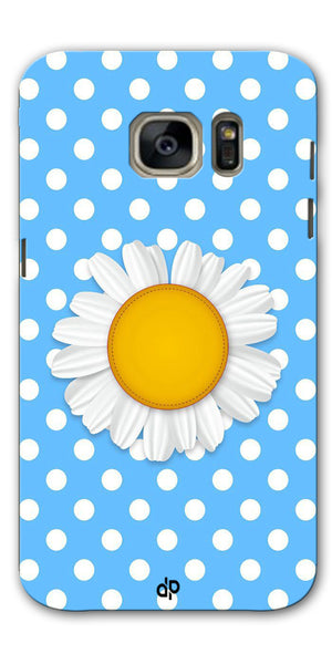 Digiprints flower Printed Designer Back Case Cover For Samsung Galaxy S7