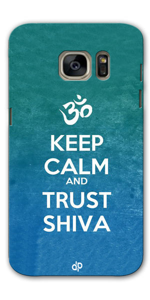 Digiprints Trust shiva Printed Designer Back Case Cover For Samsung Galaxy S7