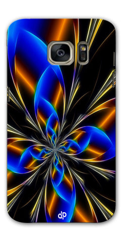 Digiprints abstract design Printed Designer Back Case Cover For Samsung Galaxy S7