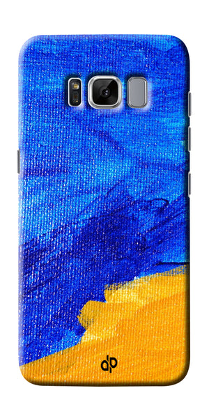 Digiprints abstract painted Printed Designer Back Case Cover For Samsung Galaxy S8