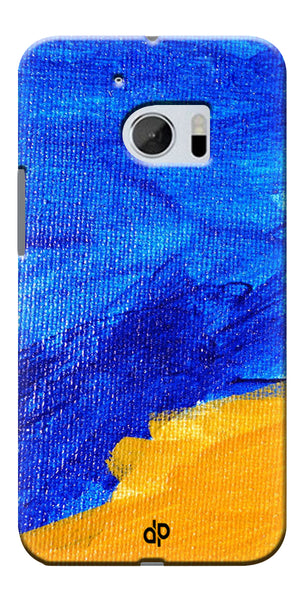 Digiprints abstract painted Printed Designer Back Case Cover For HTC 10