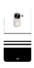 Digiprints Black White Beautiful Pattern Printed Back Case Cover For LeEco Le 2