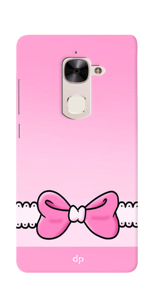 Digiprints Bing Bow Printed Back Case Cover For LeEco Le 2