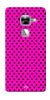 Digiprints Black Dotted Design Pink Printed Back Case Cover For LeEco Le Max 2