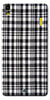 Digiprints Black Checks Printed Designer Back Case Cover For Lenovo K3 Note