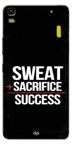 Digiprints Success Mantra Designer Printed Back Case Cover For Lenovo K3 Note